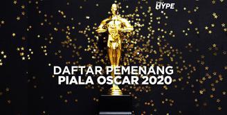 Deretan Pemenang Piala Oscar 2020