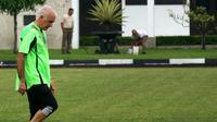 Roberto Carlos Mario Gomez sudah memulai latihan Persib (Liputan6.com/Kukuh Saokani)
