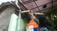 memanen hujan dilakukan warga Sleman DIY sebagai deposito air bersih untuk masa depan