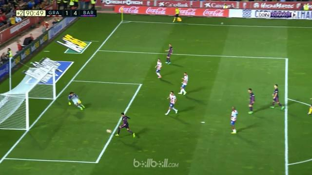 Barcelona menang dengan skor 4-1 atas Granada dalam lanjutan La Liga. This video is presented by BallBall