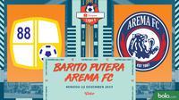 Shopee Liga 1 - Barito Putera Vs Arema FC (Bola.com/Adreanus Titus)