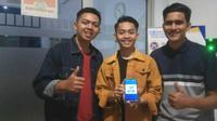 Mahasiswa PSDKU Universitas Airlangga di UMKM Banyuwangi meluncurkan BAR atau Banyuwangi Accounting Retailer. (Foto: Liputan6.com/Dian Kurniawan)