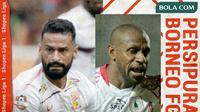 Shopee Liga 1 2020: Pusamania Borneo FC vs Persipura Jayapura. (Bola.com/Dody Iryawan)