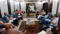 Kelas Bahasa Indonesia yang diadakan oleh pihak KJRI Cape Town.(Source: KJRI Cape Town via Kemlu RI)