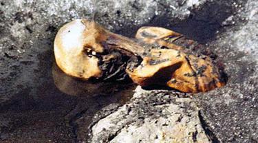 Mumi Otzi The Iceman