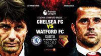Chelsea vs Watford (Liputan6.com/Abdillah)