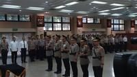 Kapolri Jenderal Tito Karnavian Melantik Kapolda Papua, Kapolda Riau, dan Kapolda Sulawesi Tenggara di Rupatama, Mabes Polri, Jakarta, Senin (30/9/2019). (Foto: Nanda Perdana Putra/Liputan6.com).