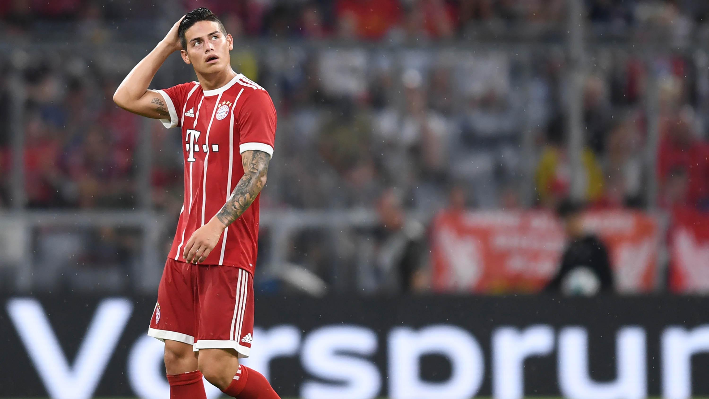 Gelandang Bayern Munchen, James Rodriguez (AFP/Christof Stache)