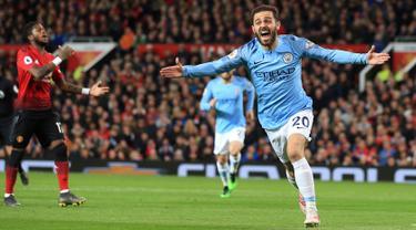 Laga Man United vs Man City