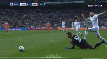 Tiket ke final Liga Champions diperoleh Real Madrid setelah menyingkirkan Bayern Munchen. Meski ditahan imbang 2 - 2 pada leg kedua, Real Madrid menang agregat 4 - 3 atas Bayern Munchen.