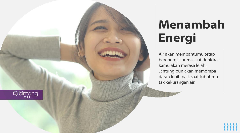Ini dia manfaat air putih. (Foto: Daniel Kampua, Digital Imaging: Nurman Abdul Hakim/Bintang.com)