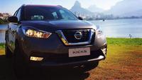 Nissan Kicks, adik dari Nissan Juke, akhirnya menampakkan diri di Brasil, setelah pertama kali diperkenalkan dua tahun lalu.