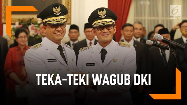 Kelanjutan Pengganti Wakil Gubernur DKI