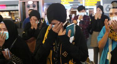 Jemaah Umrah Indonesia Bertolak ke Mekah