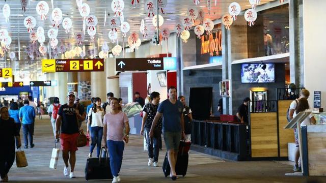 Bandara I Gusti Ngurah Rai Bali. (Dewi/Liputan6.com)