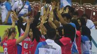 Pemain Jakarta Pertamina Energi. (Bola.com/Gatot Susetyo)