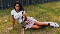 Pacar Cristiano Ronaldo, Georgina Rodriguez Main Bulutangkis (Instagram)