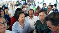 Maskapai Garuda Indonesia mengaku sudah memulangkan hampir 40 ribu dari 107 ribu jamaah yang diberangkatkan.