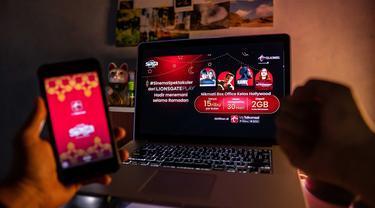 Kolaborasi Telkomsel dan Lionsgate Play