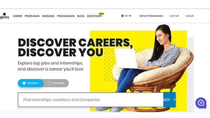 Situs pencari kerja (Sumber: Glinst)
