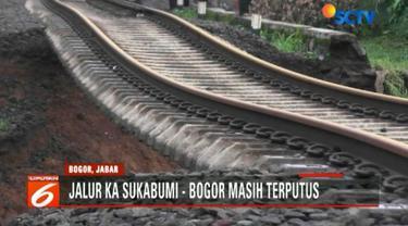 Rencananya PT Kereta Api Indonesia (KAI) akan memulai perbaikan, Kamis esok dengan melakukan pemadatan tanah.
