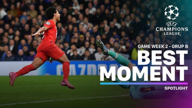 Berita video momen-momen terbaik yang terjadi pada matchday 2 di Grup B Liga Champions 2019-2020.