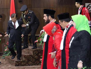 Jusuf Kalla hingga Fadli Zon Hadiri Pengucapan Sumpah Ketua MK