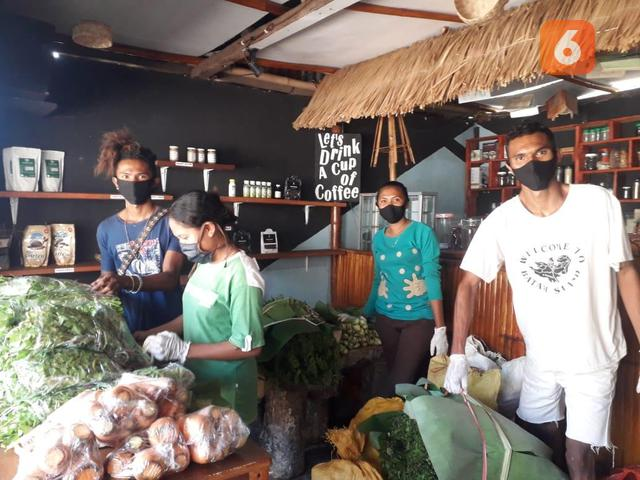 Pagi Pagi Malas Ke Pasar Belanja Online Sayur Sayuran Di Dapur Kita Saja Regional Liputan6 Com