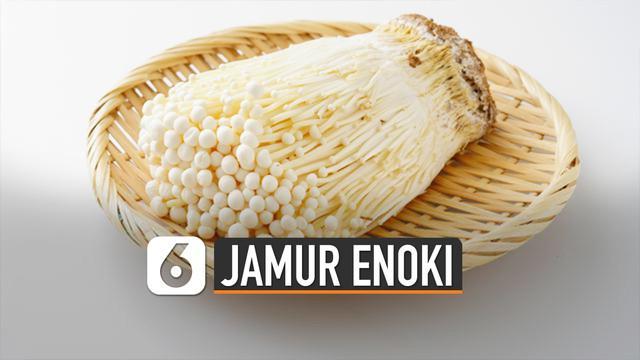 Ternyata ditemukannya listeria monocytogenes pada jamur enoki.