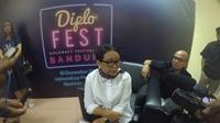 Menteri Luar Negeri RI Retno Marsudi di DiploFest, Bandung 19 Desember 2018 (Afra Augesti / Liputan6.com)
