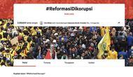 Petisi #ReformasiDikorupsi di Change.org (Foto: Change.org)