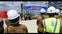 Kementerian Pekerjaan Umum dan Perumahan Rakyat (PUPR) membangun rumah susun (Rusun) Balai Besar Pelaksana Jalan Nasional (BBPJN) XI di  Kota Banjarbaru, Kalimantan Selatan