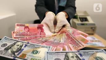 Rupiah Ditutup Stabil, Investor Waspadai Perlambatan Ekonomi Global