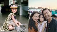 Potret Terbaru Salma Jihane, Putri Atiqah dan Rio Dewanto. (Sumber: Instagram.com/atiqahhasiholan)