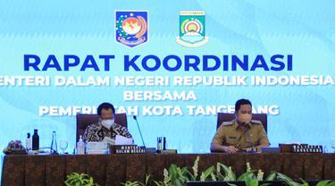 Mendagri Tito Karnavian dan Wali Kota Tangerang Arief R Wismansyah