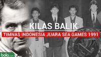 Kilas Balik Timnas Indonesia Juara Sea Games 1991 (Bola.com/Adreanus Titus)