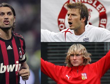 Legenda Sepak Bola yang Hadir dalam Edisi Khusus PES 2019