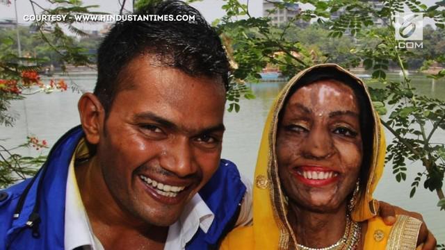 Sejak terkena air keras, wajah Lalita jadi tak sempurna. Hal ini tidak menghalangi Ravi untuk tetap menikahinya.