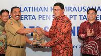 T. Bank Rakyat Indonesia (Persero), Tbk dan PT. Taspen (Persero) menjalin kemitraan strategis. Di usia seperempat abad ini, kedua perusahaan kembali bersinergi menyelenggarakan acara Pra-Launching Kewirausahaan Pensiun Indonesia 2018.