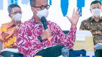 Menperin Agus Gumiwang Kartasasmita mengaku optimis bahwa pertumbuhan ekonomi Indonesia pada  2021 tembus 5,5 persen. (Dok Kemenperin)
