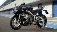 Triumph Daytona Moto2 resmi diluncurkan. (Visordown)