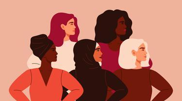 Ilustrasi empowering women