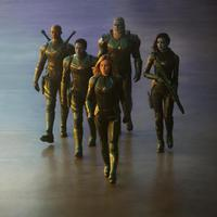 Foto eksklusif film Captain Marvel. (sumber: Entertainment Weekly / Marvel Studios)