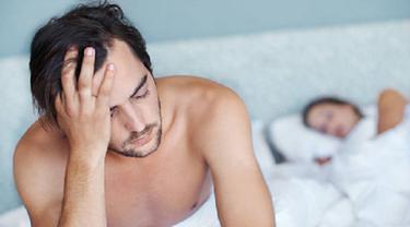 Ilustrasi gangguan ereksi (iStock)