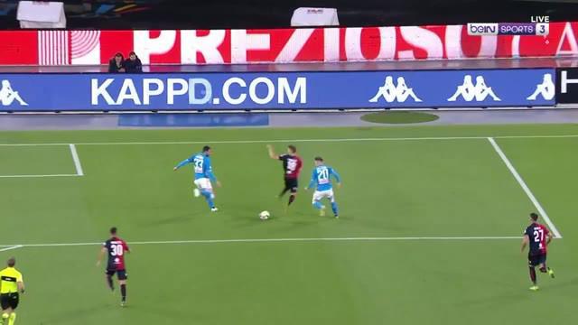 Berita video highlights Serie A antara Napoli menghadapi Cagliari yang berakhir dengan skor 2-1.