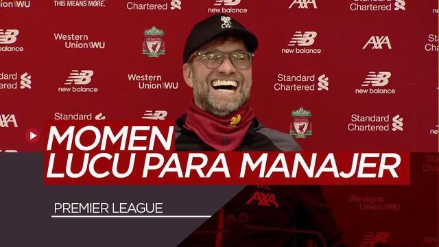 Berita Video Momen Lucu Jurgen Klopp,Jose Mourinho dan Brendan Rodgers Saat Konferensi Pers