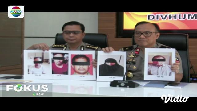 Lima terduga teroris yang ditangkap Densos 88 Antiteror di Bekasi dan Ponorogo meripakan anggota Jamaah Islamiyah.