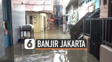 Hujan deras yang mengguyur Jakarta Senin (09/10) malam membuat sebagian daerah direndam banjir. Salah satu daerah yang terendam adalah kawasan Kebon Pala.