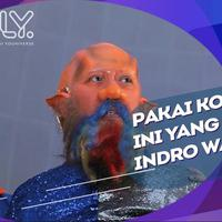 Indro Warkop ceritakan rasanya memakai kostum alien.