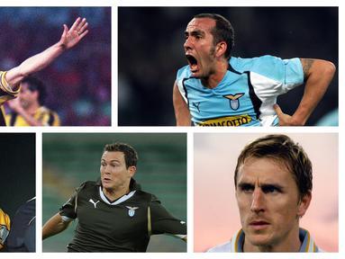 Kumpulan foto-foto sejumlah pemain Lazio yang dibeli Juventus. (Foto: AFP)